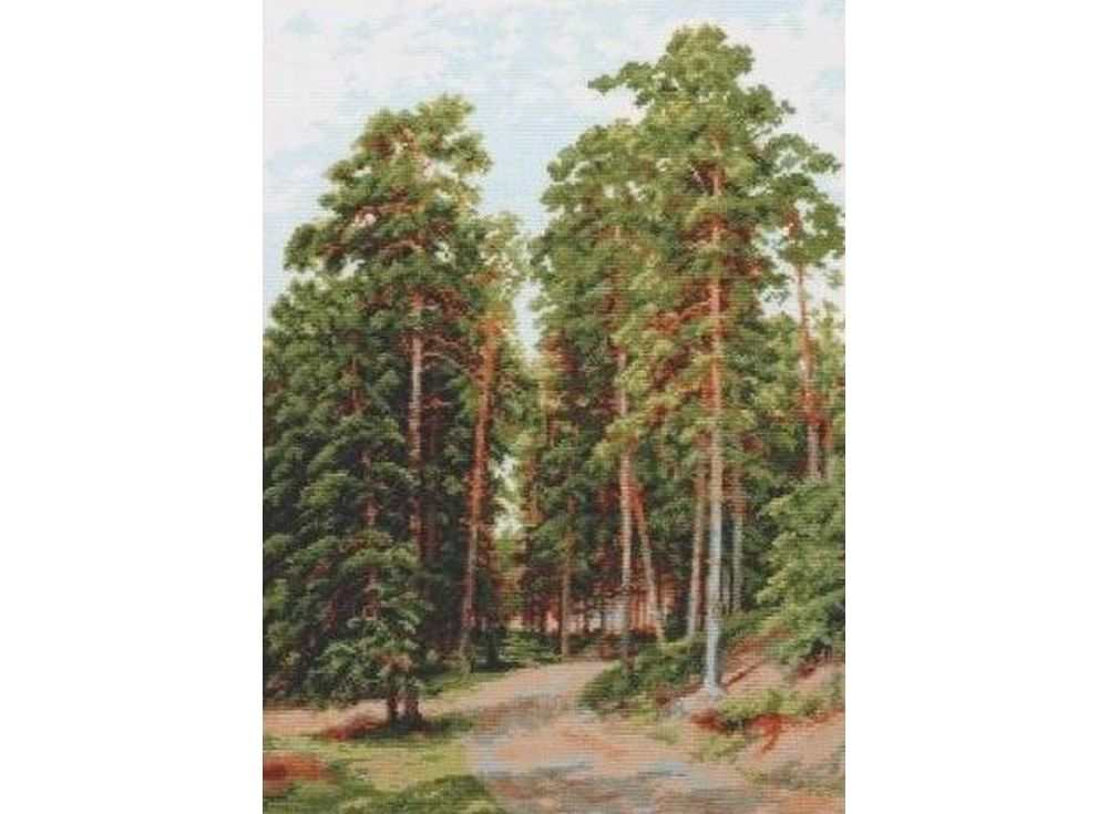 Набор для вышивания «Солнце в лесу»Вышивка крестом Палитра<br><br><br>Артикул: 08.015<br>Основа: канва Aida 16<br>Размер: 27x39 см<br>Техника вышивки: счетный крест<br>Тип схемы вышивки: Цветная схема<br>Цвет канвы: Белый<br>Количество цветов: 19<br>Рисунок на канве: не нанесён<br>Техника: Вышивка крестом