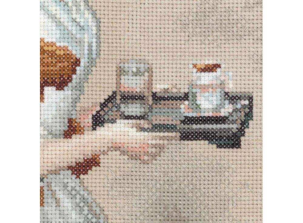 Набор вышивки шоколадница