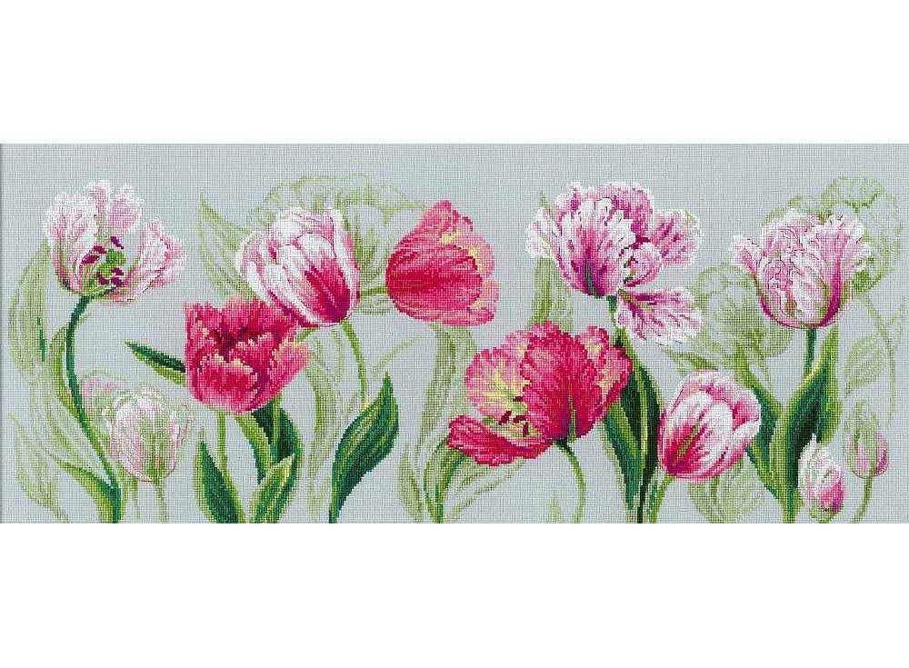 Набор для вышивания «Весенние тюльпаны»Вышивка крестом Риолис<br><br>