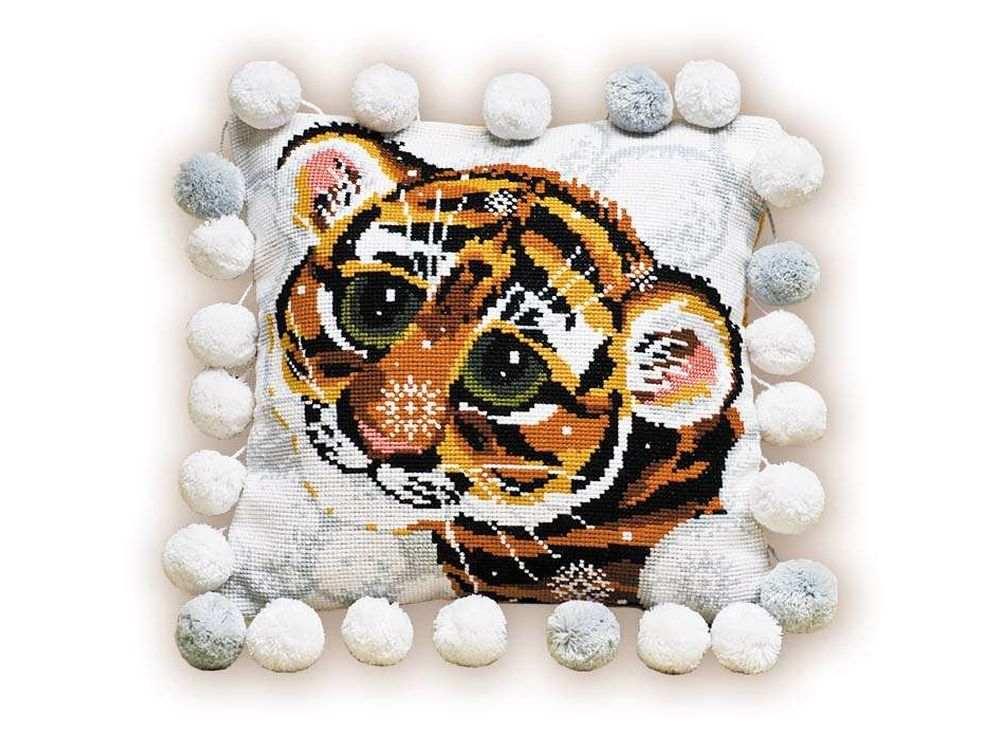 Набор для вышивания «Подушка. Тигренок»