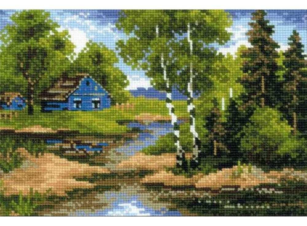 Набор для вышивания «Летний домик»Вышивка крестом<br><br>