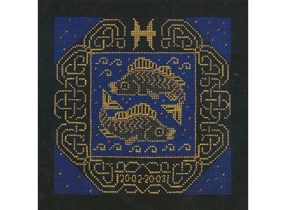 Набор для вышивания «Рыбы»Вышивка крестом Риолис<br><br><br>Артикул: 1212<br>Основа: канва 14 Aida Zweigart<br>Размер: 25х25 см<br>Техника вышивки: счетный крест<br>Серия: Риолис (Сотвори Сама)<br>Тип схемы вышивки: Цветная схема<br>Цвет канвы: Черный<br>Количество цветов: 2<br>Художник, дизайнер: Юлия Красавина<br>Заполнение: Полное<br>Рисунок на канве: не нанесён<br>Техника: Вышивка крестом