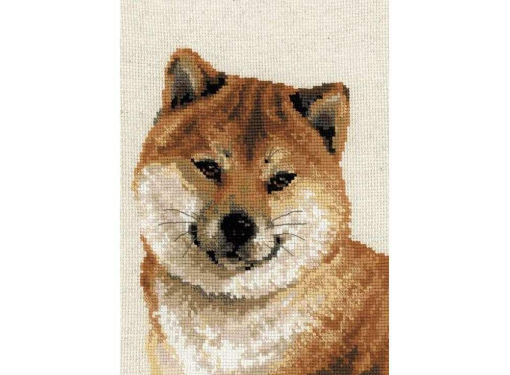 Набор для вышивания «Японская лайка»Вышивка крестом Риолис<br><br><br>Артикул: 1280<br>Основа: канва 14 Aida Zweigart<br>Размер: 24х30 см<br>Техника вышивки: счетный крест<br>Серия: Риолис (Сотвори Сама)<br>Тип схемы вышивки: Цветная схема<br>Цвет канвы: Льняной<br>Количество цветов: 14<br>Художник, дизайнер: Анна Король<br>Заполнение: Полное<br>Рисунок на канве: не нанесён<br>Техника: Вышивка крестом