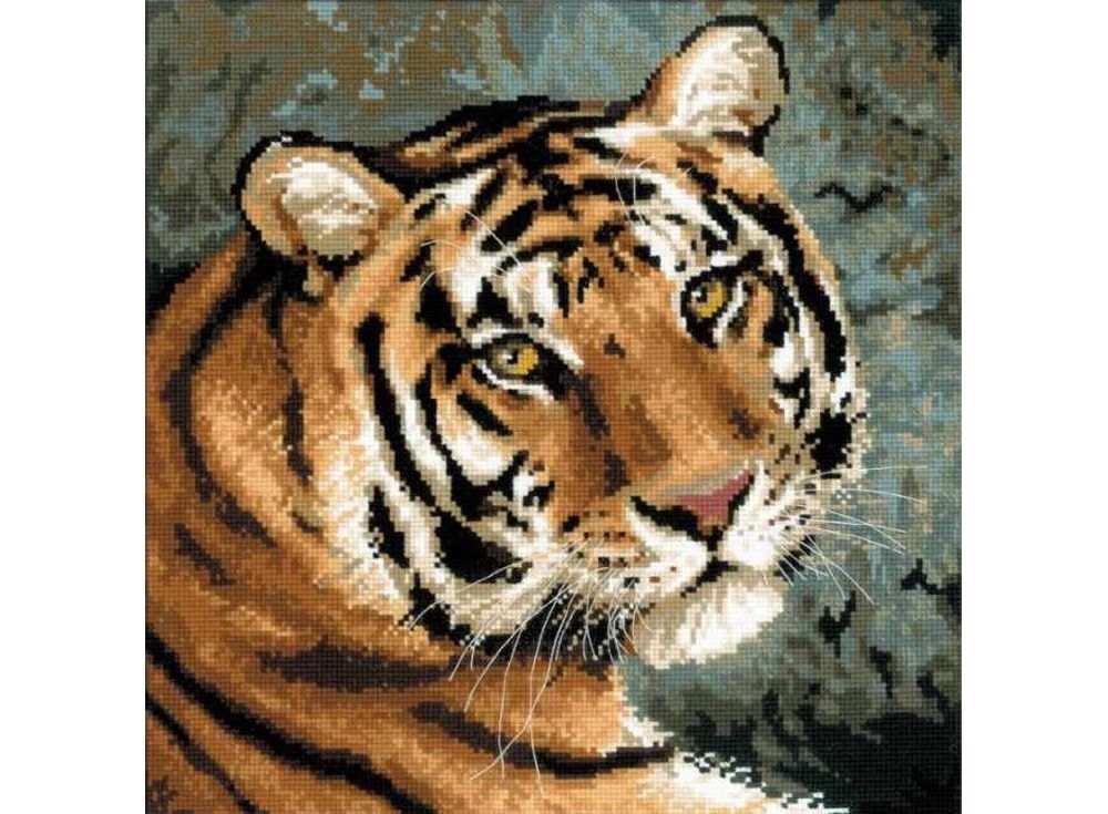 Набор для вышивания «Амурский тигр»Вышивка крестом Риолис<br><br><br>Артикул: 1282<br>Основа: канва 14 Aida Zweigart<br>Размер: 40х40 см<br>Техника вышивки: счетный крест<br>Серия: Риолис (Сотвори Сама)<br>Тип схемы вышивки: Цветная схема<br>Цвет канвы: Белый<br>Количество цветов: 22<br>Художник, дизайнер: Анна Король<br>Заполнение: Полное<br>Рисунок на канве: не нанесён<br>Техника: Вышивка крестом