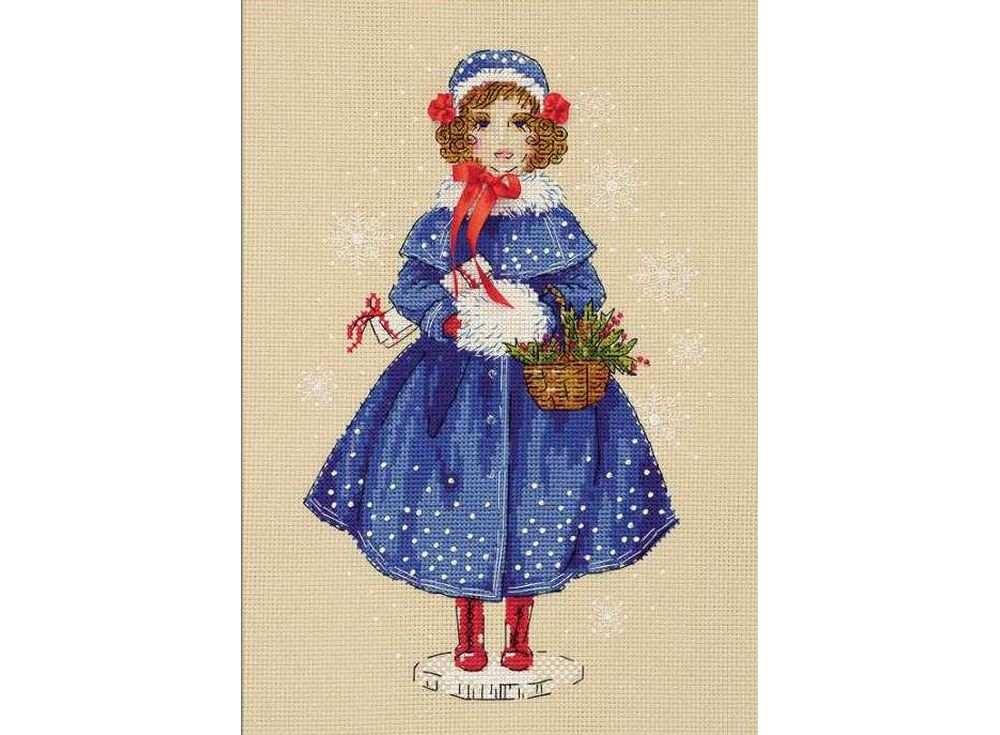 Набор для вышивания «Кукла Мари»Вышивка смешанной техникой Риолис<br><br><br>Артикул: 1312<br>Основа: канва 14 Stern-Aida Zweigart<br>Размер: 21x30 см<br>Техника вышивки: счетный крест+бисер+ленты<br>Тип схемы вышивки: Цветная схема<br>Цвет канвы: Бежевый<br>Количество цветов: Мулине: 18 цветов, бисер: 2 цвета, лента: 1 цвет<br>Художник, дизайнер: Анна Петросян<br>Заполнение: Полное<br>Рисунок на канве: не нанесён<br>Техника: Смешанная техника