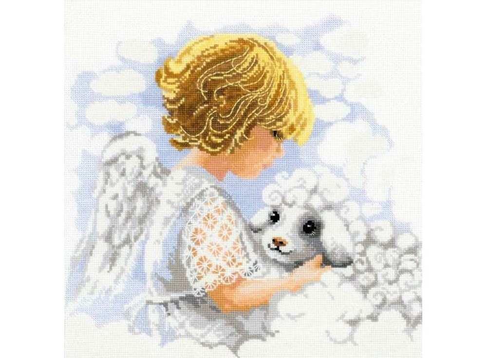 Набор для вышивания «День ангела»Вышивка крестом Риолис<br><br><br>Артикул: 1360<br>Основа: канва 14 Aida Zweigart<br>Размер: 30х30 см<br>Техника вышивки: счетный крест<br>Серия: Риолис (Сотвори Сама)<br>Тип схемы вышивки: Цветная схема<br>Цвет канвы: Белый<br>Количество цветов: 18<br>Художник, дизайнер: Анна Король<br>Заполнение: Полное<br>Рисунок на канве: не нанесён<br>Техника: Вышивка крестом