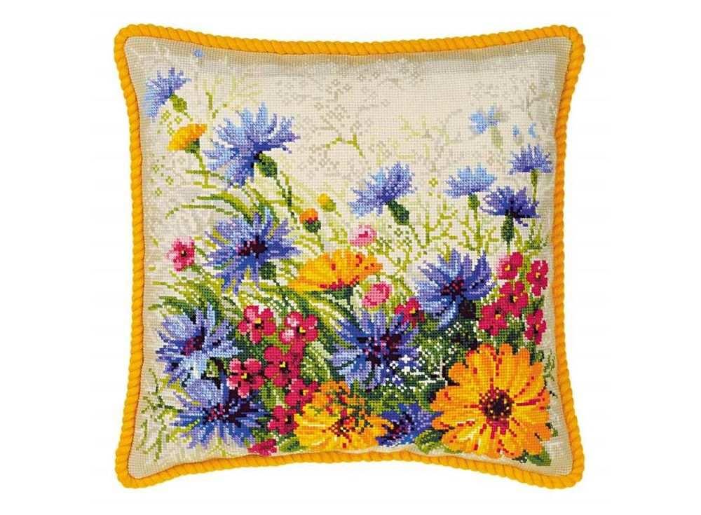 Набор для вышивания «Подушка. Мавританский газон»