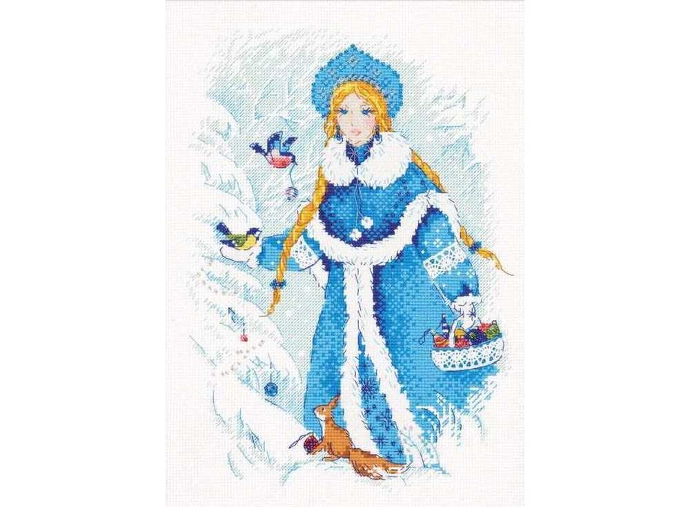 Купить Вышивка крестом, Набор для вышивания «Снегурочка», Риолис (Сотвори Сама)