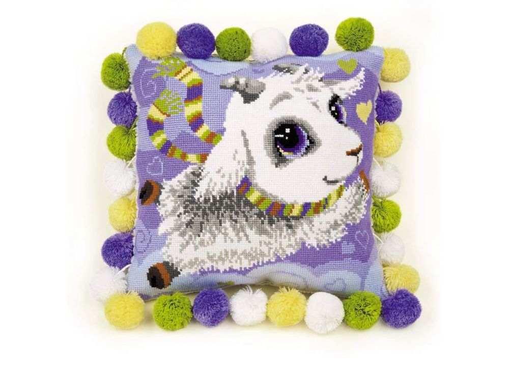Набор для вышивания «Подушка. Козлик»