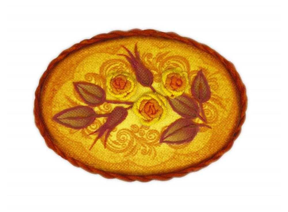 Набор для вышивания «Брошь. Чайная роза»Вышивка смешанной техникой Риолис<br><br><br>Артикул: 1584АС<br>Основа: ткань с нанесенным рисунком<br>Размер: 6,5х4,5 см<br>Техника вышивки: счетный крест+фетр<br>Тип схемы вышивки: Цветная схема<br>Количество цветов: Мулине: 4 цвета, фетр: 1 цвет<br>Художник, дизайнер: Елена Колмакова<br>Заполнение: Частичное<br>Рисунок на канве: Нанесён рисунок<br>Техника: Смешанная техника
