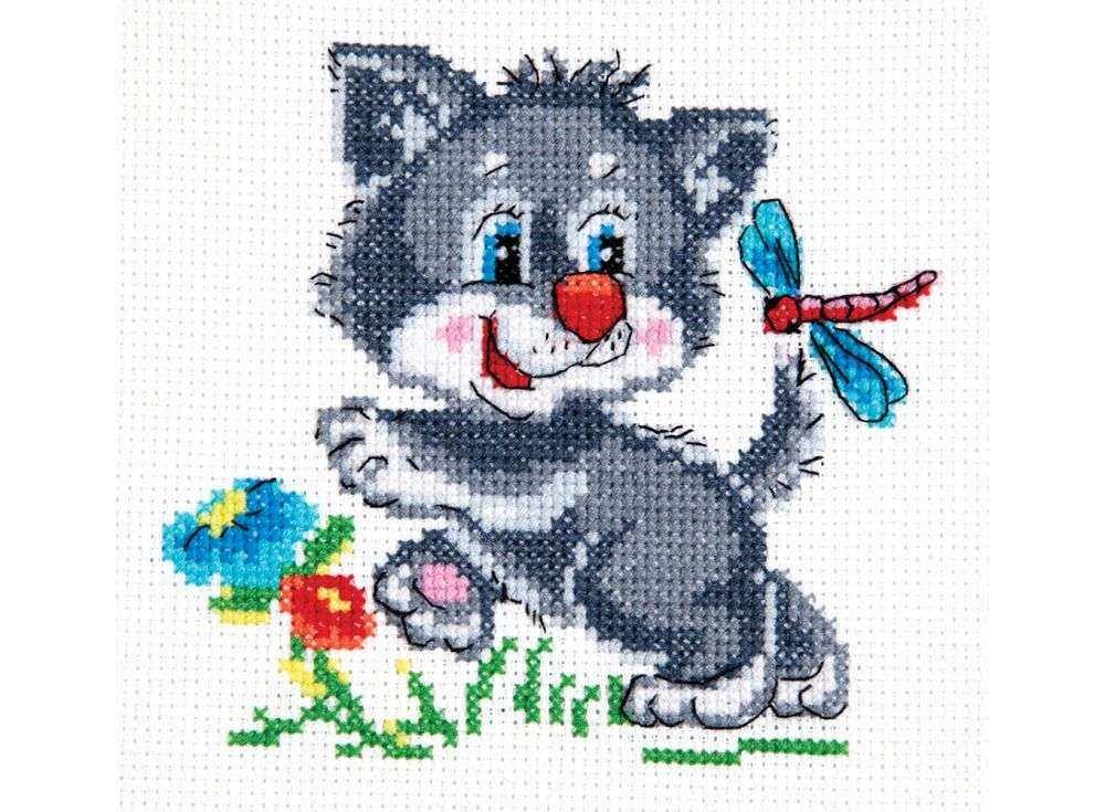 Набор для вышивания «Серенький волчек»Вышивка крестом Чудесная игла<br><br><br>Артикул: 18-44<br>Основа: канва Aida 14 (хлопок)<br>Сложность: легкие<br>Размер: 12х11 см<br>Техника вышивки: счетный крест<br>Тип схемы вышивки: Цветная схема<br>Цвет канвы: Белый<br>Количество цветов: 12<br>Игла: № 24<br>Рисунок на канве: не нанесён<br>Техника: Вышивка крестом<br>Нитки: мулине 100% хлопок Bestex