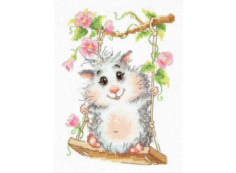 Набор для вышивания «На качельках»Вышивка крестом<br><br>