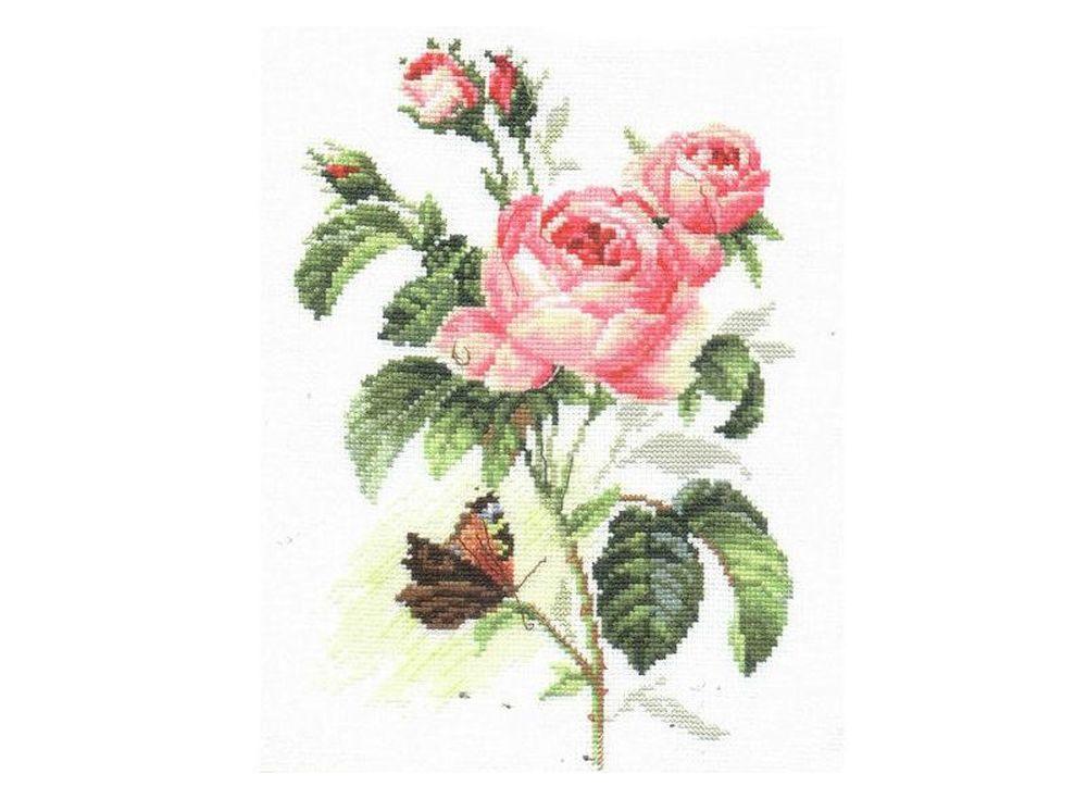Набор для вышивания «Роза и бабочка»Вышивка крестом Алиса<br><br><br>Артикул: 2-13<br>Основа: канва Aida 14 100% хлопок Gamma<br>Размер: 17х25 см<br>Тип схемы вышивки: Цветная схема<br>Цвет канвы: Белый<br>Количество цветов: 26<br>Рисунок на канве: не нанесён<br>Техника: Вышивка крестом<br>Нитки: мулине 100% хлопок Gamma