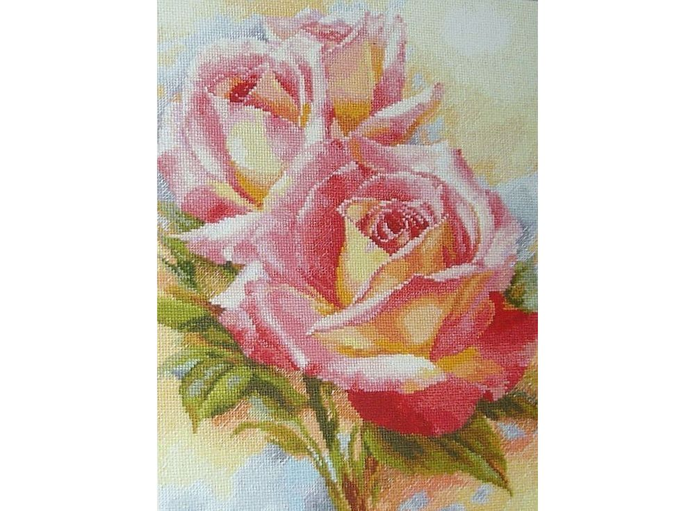 Набор для вышивания «Розовые мечты»Вышивка крестом Алиса<br><br><br>Артикул: 2-31<br>Основа: канва Aida 14 100% хлопок Gamma<br>Размер: 28x36 см<br>Тип схемы вышивки: Цветная схема<br>Цвет канвы: Белый<br>Количество цветов: 41<br>Рисунок на канве: не нанесён<br>Техника: Вышивка крестом<br>Нитки: мулине 100% хлопок Gamma