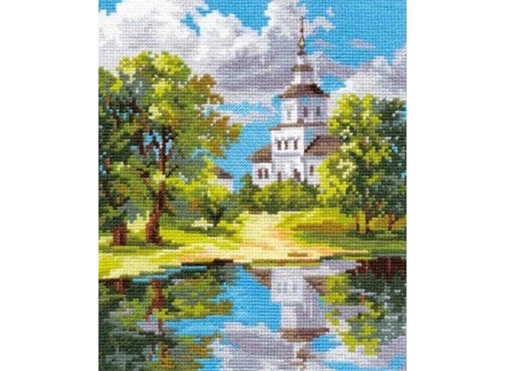 Набор для вышивания «Храм у пруда»Вышивка крестом Алиса<br><br><br>Артикул: 3-11<br>Основа: канва Aida 14 100% хлопок Gamma<br>Размер: 18х21 см<br>Тип схемы вышивки: Цветная схема<br>Цвет канвы: Белый<br>Количество цветов: 21<br>Рисунок на канве: не нанесён<br>Техника: Вышивка крестом<br>Нитки: мулине 100% хлопок Gamma
