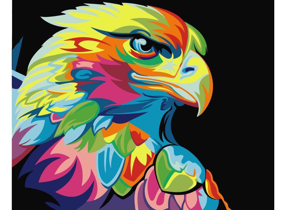 Картина цветным песком «Орел» Ваю РомдониКартины из цветного песка<br>Картины песком завоевали популярность среди взрослых и детей благодаря интересному творческому процессу и прекрасному результату. Мы разнообразили ассортимент в этом виде творчества, и теперь наши покупатели могут создавать полюбившиеся композиции из сери...<br><br>Артикул: 3040007<br>Размер: 30x40 см<br>Количество цветов: 17