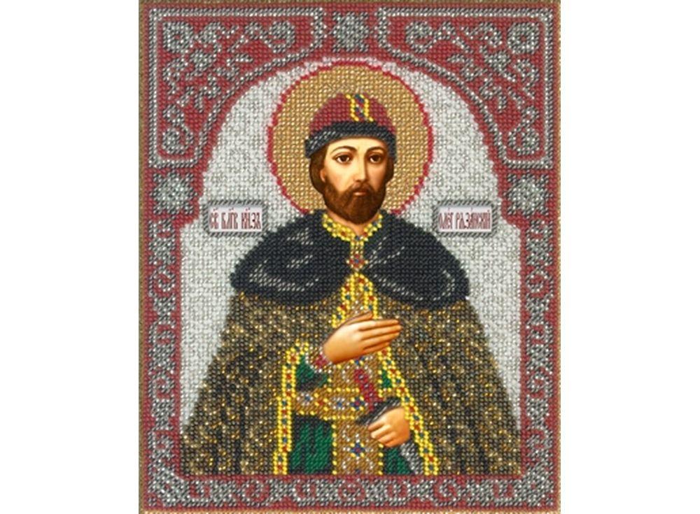 Набор вышивки бисером «Святой Олег»Вышивка бисером<br><br>