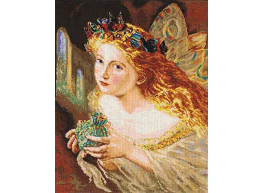 Набор для вышивания «Фея»Вышивка крестом Алиса<br><br><br>Артикул: 4-08<br>Основа: канва Aida 16 100% хлопок Gamma<br>Размер: 27х33 см<br>Тип схемы вышивки: Цветная схема<br>Цвет канвы: Белый<br>Количество цветов: 38<br>Рисунок на канве: не нанесён<br>Техника: Вышивка крестом<br>Нитки: мулине 100% хлопок Gamma