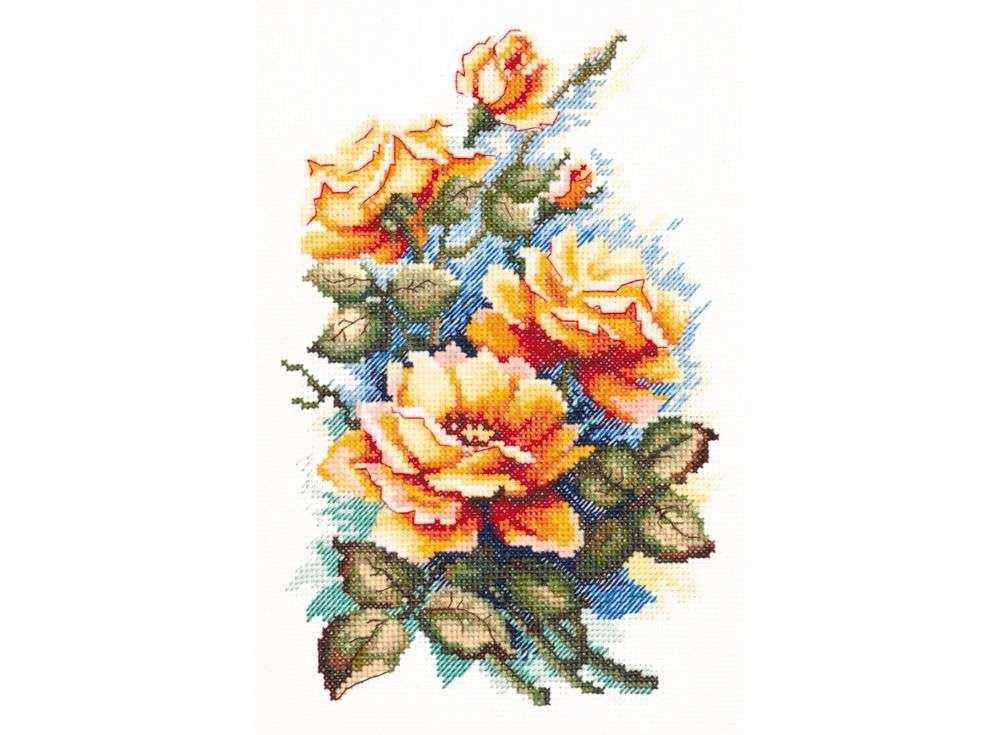 Набор для вышивания «Моей любимой»Вышивка крестом Чудесная игла<br><br><br>Артикул: 40-49<br>Основа: канва Aida 14 (хлопок)<br>Сложность: средние<br>Размер: 15x22 см<br>Техника вышивки: счетный крест<br>Тип схемы вышивки: Цветная схема<br>Цвет канвы: Белый<br>Количество цветов: 28<br>Игла: № 24<br>Рисунок на канве: не нанесён<br>Техника: Вышивка крестом<br>Нитки: мулине 100% хлопок Чудесная игла