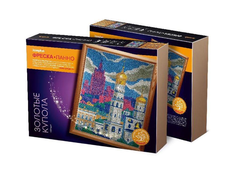 Супер-фреска «Города. Золотые купола»Фрески<br><br><br>Артикул: 427111<br>Размер упаковки: 45x35x7 см<br>Возраст: от 7 лет