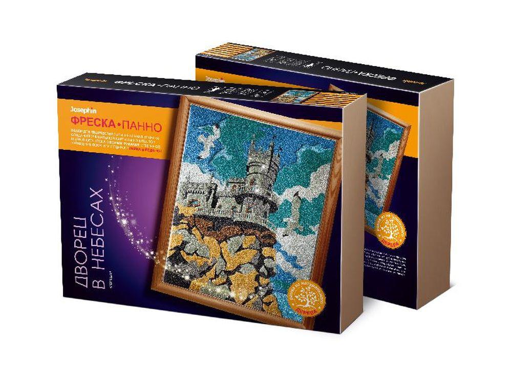 Супер-фреска «Города. Дворец в небесах»Фрески<br><br><br>Артикул: 427112<br>Размер упаковки: 45x35x7 см<br>Возраст: от 7 лет