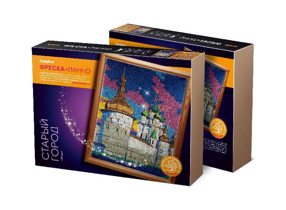 Супер-фреска «Города. Старый город»Фрески<br><br><br>Артикул: 427113<br>Размер упаковки: 45x35x7 см<br>Возраст: от 7 лет