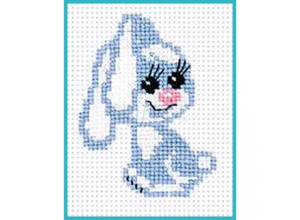 Набор для вышивания «Крольчонок»Вышивка крестом Риолис<br><br><br>Артикул: 491<br>Основа: канва 10 Aida Zweigart<br>Размер: 13х16 см<br>Техника вышивки: счетный крест<br>Серия: Риолис (Сотвори Сама)<br>Тип схемы вышивки: Цветная схема<br>Цвет канвы: Белый<br>Количество цветов: 4<br>Художник, дизайнер: Анна Король<br>Заполнение: Полное<br>Рисунок на канве: не нанесён<br>Техника: Вышивка крестом