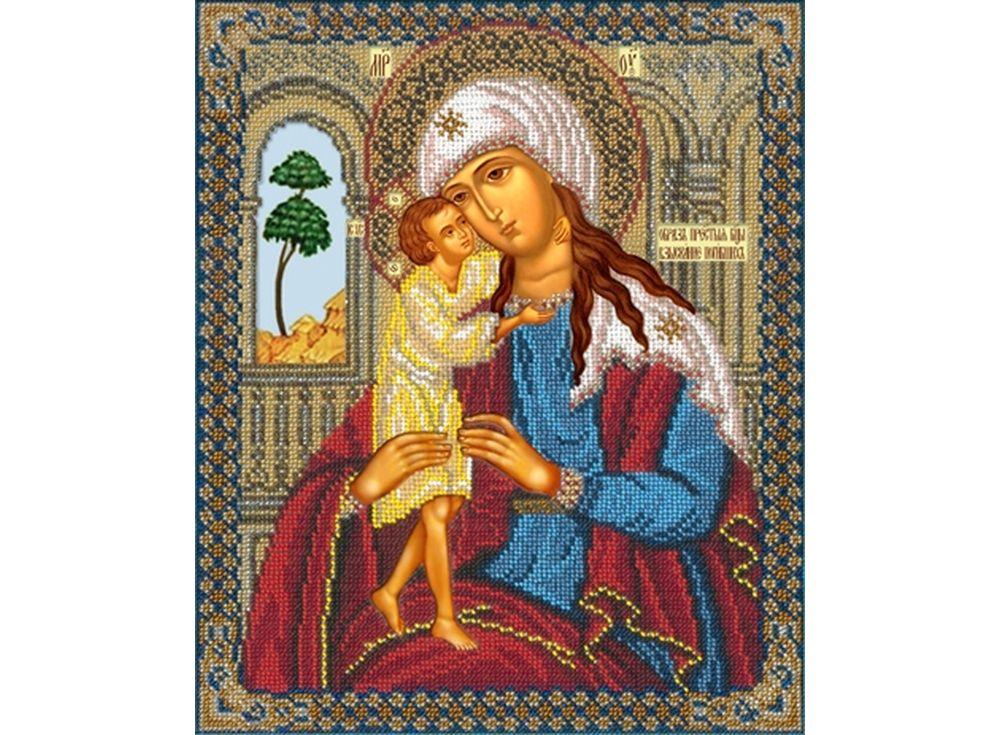 Набор вышивки бисером «Богородица Взыскание погибших»Вышивка бисером<br><br>