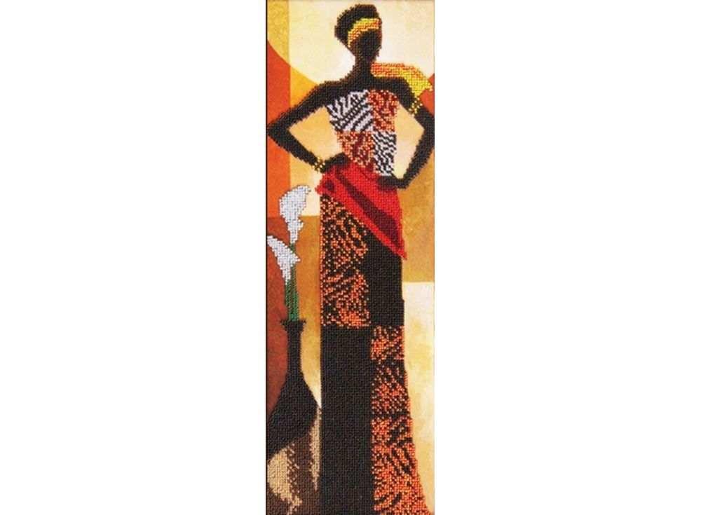 Набор вышивки бисером «Африканский стиль»Вышивка бисером<br><br>