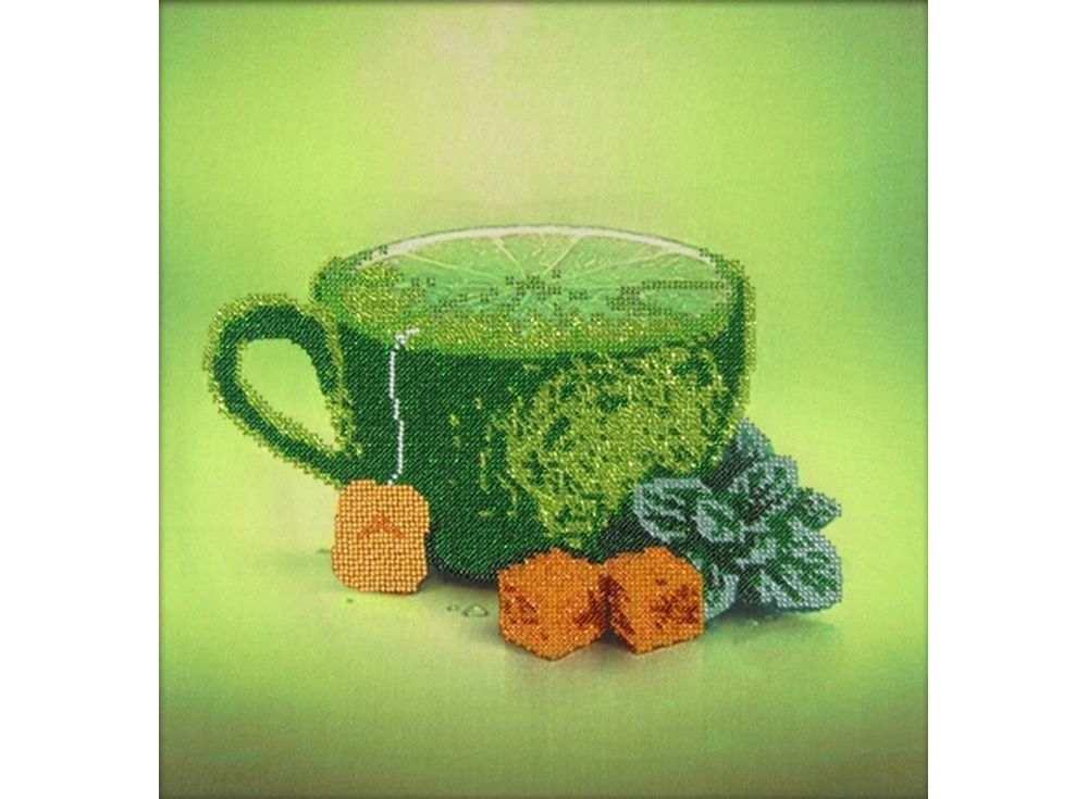 Набор вышивки бисером «Лимонный чай»Вышивка бисером Астрея (Глурия)<br><br><br>Артикул: 60105<br>Основа: габардин<br>Размер: 30х30 см<br>Техника вышивки: бисер<br>Тип схемы вышивки: Цветная схема<br>Количество цветов: 10<br>Заполнение: Частичное<br>Рисунок на канве: нанесён рисунок и схема<br>Техника: Вышивка бисером
