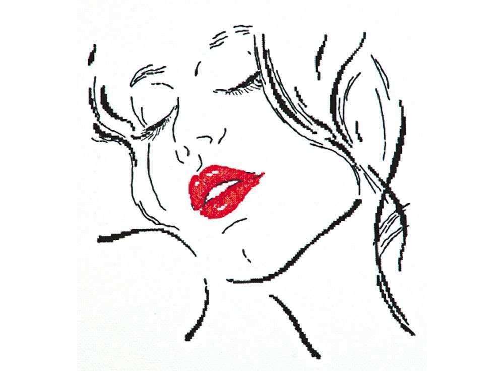 Набор для вышивания «Милые черты»Вышивка крестом Чудесная игла<br><br><br>Артикул: 66-12<br>Основа: канва Aida 14 (хлопок)<br>Сложность: легкие<br>Размер: 30х30 см<br>Техника вышивки: счетный крест<br>Тип схемы вышивки: Черно-белая схема<br>Цвет канвы: Белый<br>Количество цветов: 3<br>Игла: № 24<br>Рисунок на канве: не нанесён<br>Техника: Вышивка крестом<br>Нитки: мулине 100% хлопок Чудесная игла