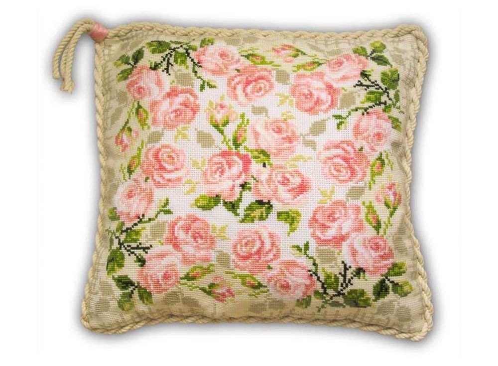 Набор для вышивания «Подушка. Розочки»