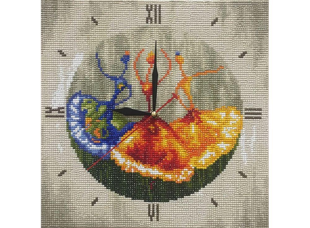 Алмазные часы «Танцовщицы»Color Kit (Алмазные часы)<br><br><br>Артикул: 7303003-P<br>Основа: Холст на подрамнике<br>Сложность: сложные<br>Размер: 30x30 см<br>Выкладка: Полная<br>Количество цветов: 15-25<br>Тип страз: Круглые непрозрачные (акриловые)
