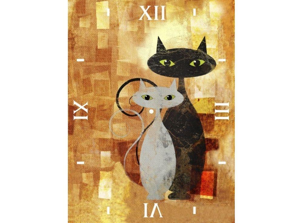 Алмазные часы «Влюбленные»Color Kit (Алмазные часы)<br><br><br>Артикул: 7304001-P<br>Основа: Холст на подрамнике<br>Сложность: сложные<br>Размер: 30x40 см<br>Выкладка: Полная<br>Количество цветов: 15-25<br>Тип страз: Круглые непрозрачные (акриловые)