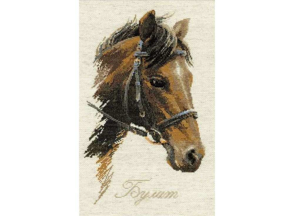 Купить Вышивка крестом, Набор для вышивания «Булат», Риолис (Сотвори Сама), 24x40 см, 826