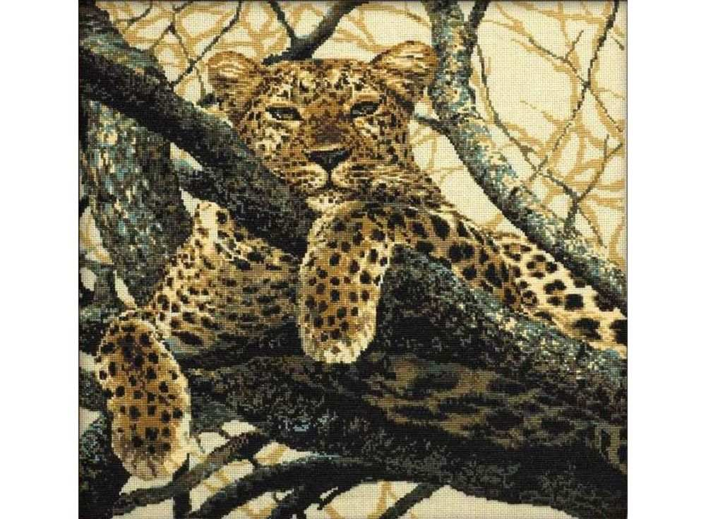 Купить Вышивка крестом, Набор для вышивания «Леопард», Риолис (Сотвори Сама)