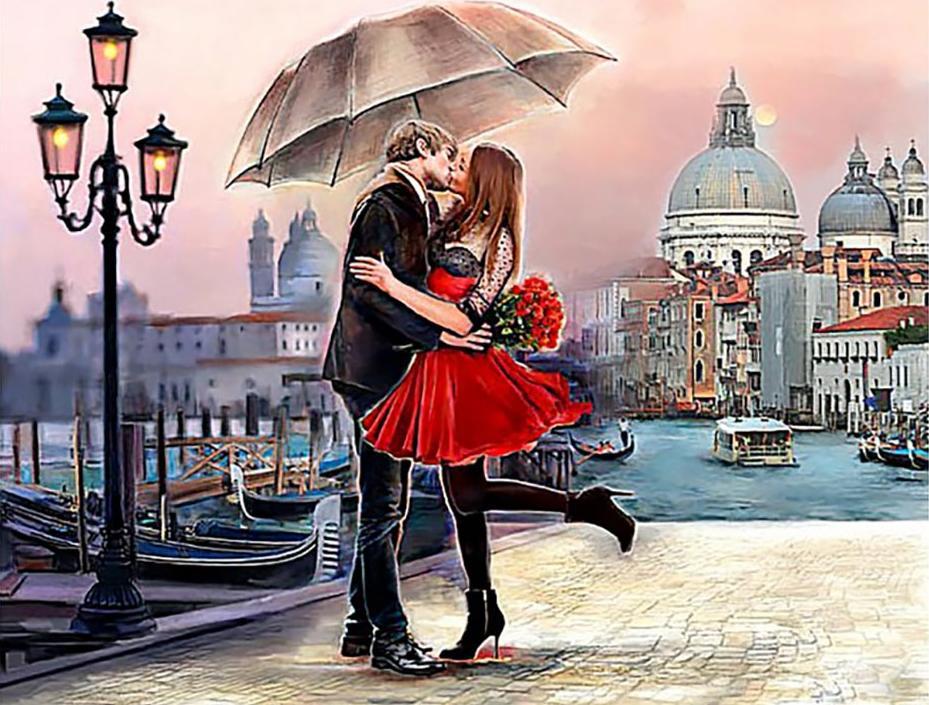 Алмазная вышивка «Венецианская любовь» Майкла Тарина