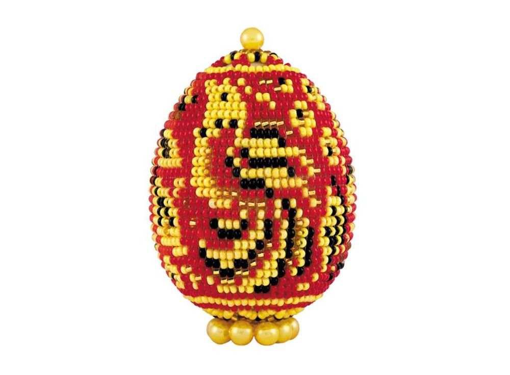 Набор для бисероплетения «Яйцо. Хохлома»