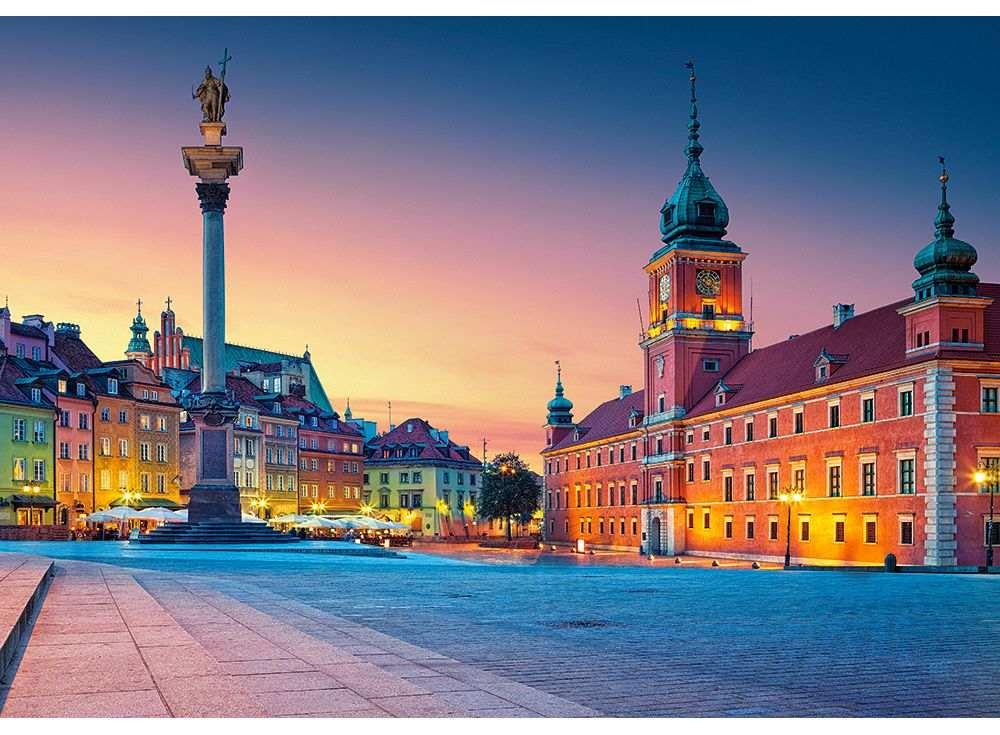 Пазлы «Замковая площадь в Варшаве»Пазлы от производителя Castorland<br><br><br>Артикул: B52486<br>Размер: 47x33 см