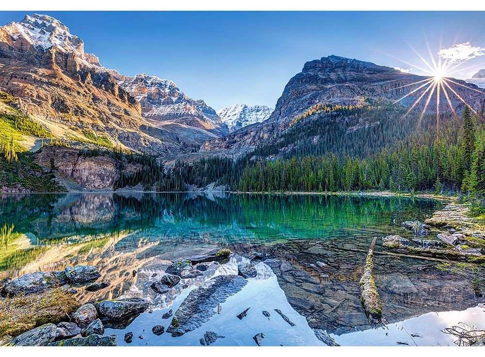 Пазлы «Озеро О`Хара. Канада»Пазлы от производителя Castorland<br><br><br>Артикул: C103638<br>Размер: 68x47 см