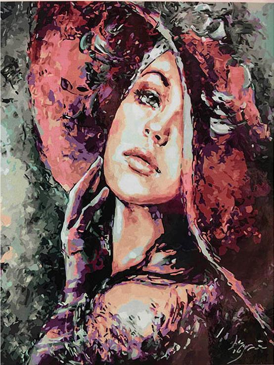 «Девушка» Эльжбеты БрожекРаскраски по номерам Paintboy (Original)<br><br><br>Артикул: GX3743_R<br>Основа: Холст<br>Сложность: сложные<br>Размер: 40x50 см<br>Количество цветов: 30<br>Техника рисования: Без смешивания красок