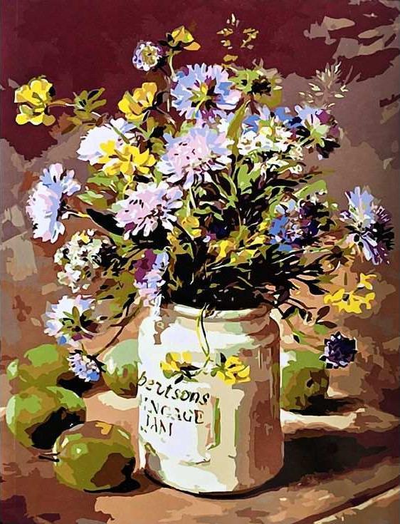 «Сиреневый букетик» Энн КоттериллPaintboy (Premium)<br><br><br>Артикул: GX3826<br>Основа: Холст<br>Сложность: средние<br>Размер: 40x50 см<br>Количество цветов: 26<br>Техника рисования: Без смешивания красок