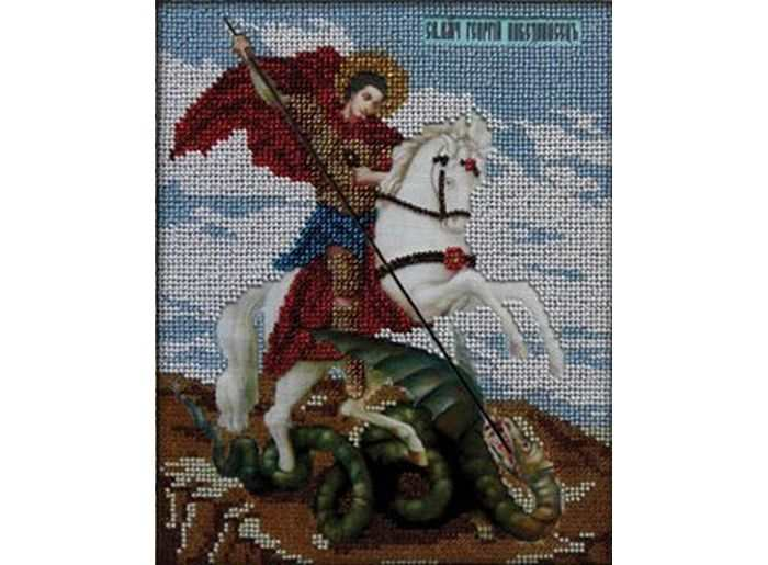 Набор вышивки бисером «Святой Георгий Победоносец»