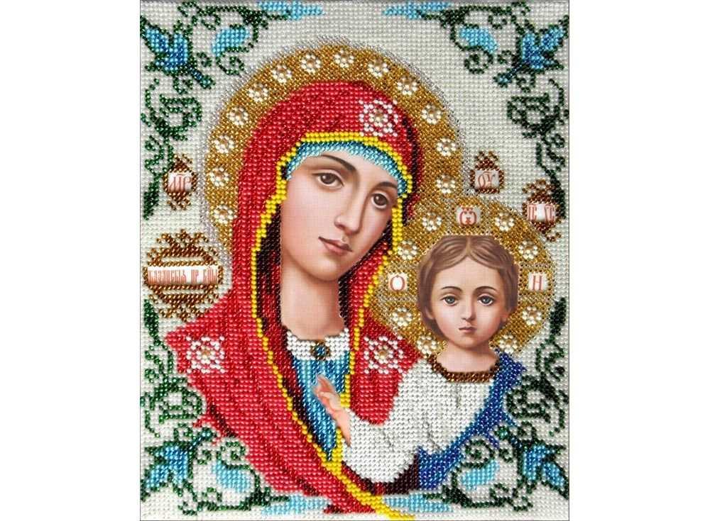 Набор вышивки бисером «Казанская Богородица»