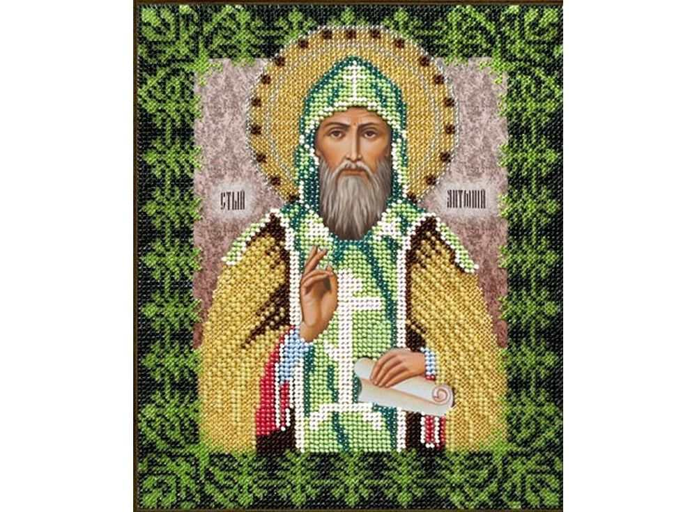 Набор вышивки бисером «Святой Антон»Вышивка бисером Вышиваем бисером<br><br>