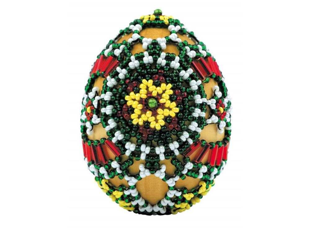 Набор для бисероплетения «Яйцо. Лужицкие мотивы»Бисероплетение Риолис (Сотвори сама)<br><br><br>Артикул: В191<br>Основа: Деревянная основа<br>Размер: 6х4,5 см<br>Техника вышивки: бисероплетение<br>Тип схемы вышивки: Цветная схема<br>Количество цветов: Бисер: 4 цвета, бусины: 1 цвет<br>Художник, дизайнер: Юлия Лындина<br>Техника: Бисероплетение