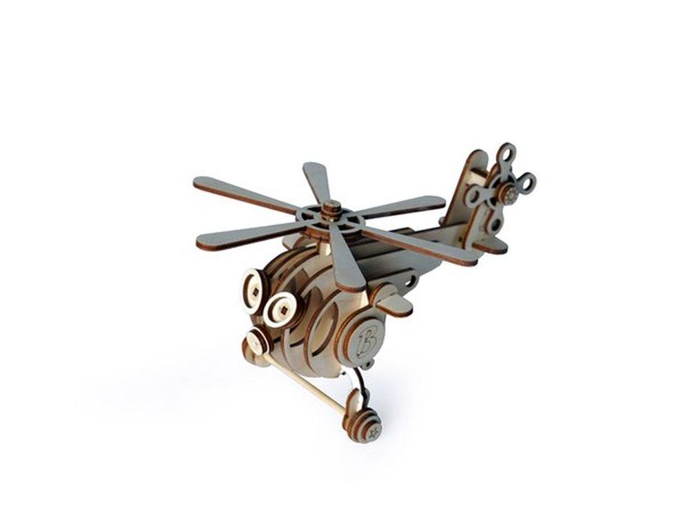 Конструктор «Вертолет Витя»3D Конструкторы Lemmo<br>Экологически чистые, развивающие конструкторы от российского производителя Lemmo помогут вашему ребенку развить мелкую моторику рук, воображение, пространственное мышление, логику и познакомят с предметным моделированием.<br> <br>Все детали выполнены из кач...<br><br>Артикул: 00-57<br>Размер готовой модели: 18x15x12 см<br>Материал: дерево (фанера)<br>Возраст: от 5 лет