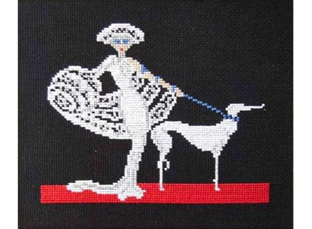 Набор для вышивания «Дама в белом»Вышивка крестом<br><br>