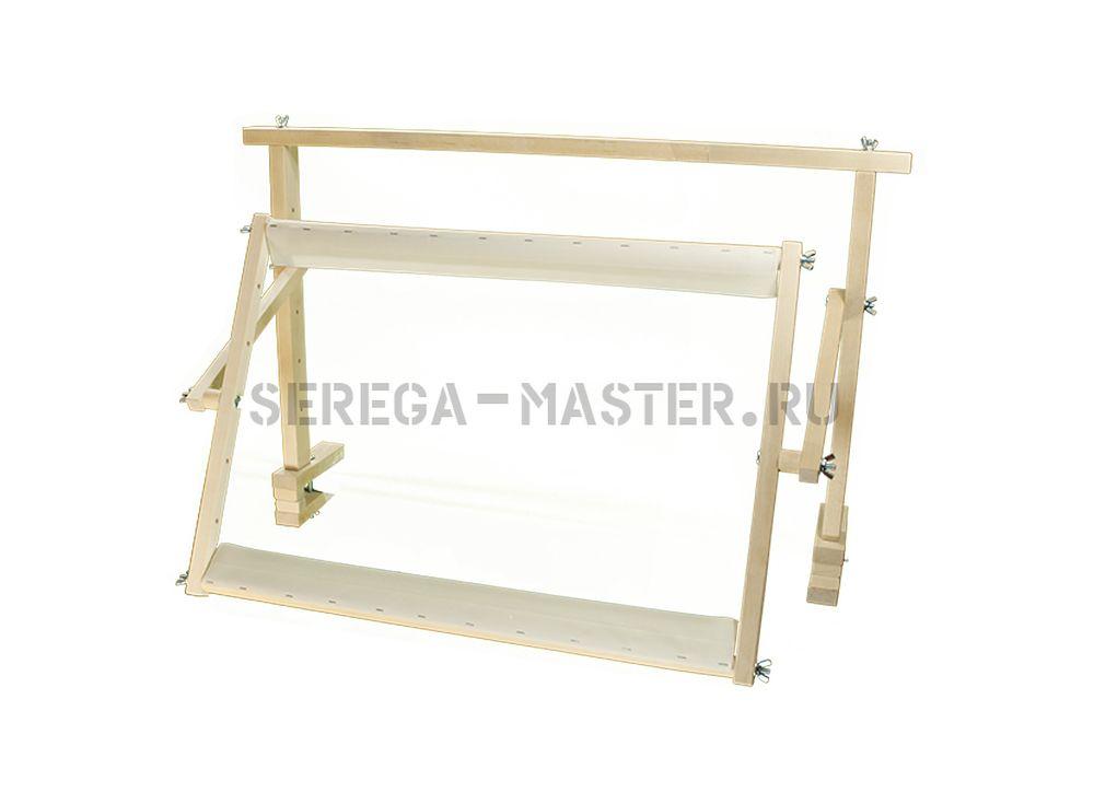 Станок настольный №2 (НС-2-550)Аксессуары для вышивки<br><br><br>Артикул: 1025<br>Размер: 52x76 см<br>Вес: 3 кг<br>Материал: Берёза