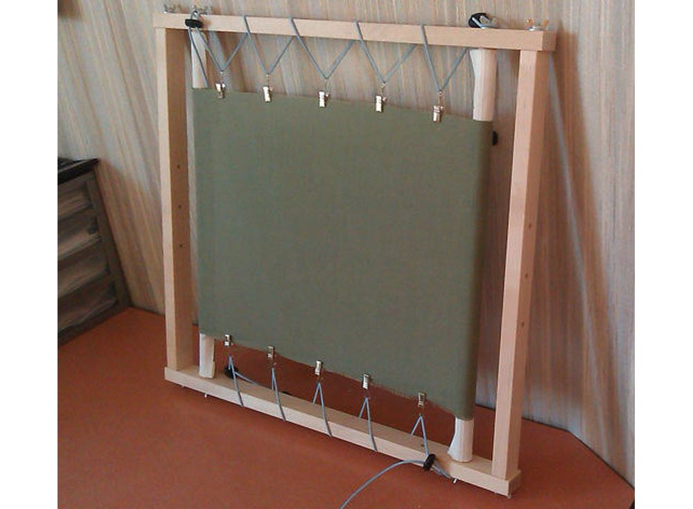 Рамка-пяльцы модернизированная РПМАксессуары для вышивки<br><br><br>Артикул: 1028<br>Размер: Ширина: 60 см<br>Вес: 2 кг<br>Материал: Берёза